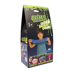 Малый набор для мальчиков Slime Тянущийся слайм *Лаборатория*, синий, 100 гр