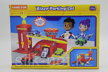 "Набор машин ""Blaze Parking Lot"""