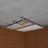 Каркасная звукоизоляция потолка Комфорт +