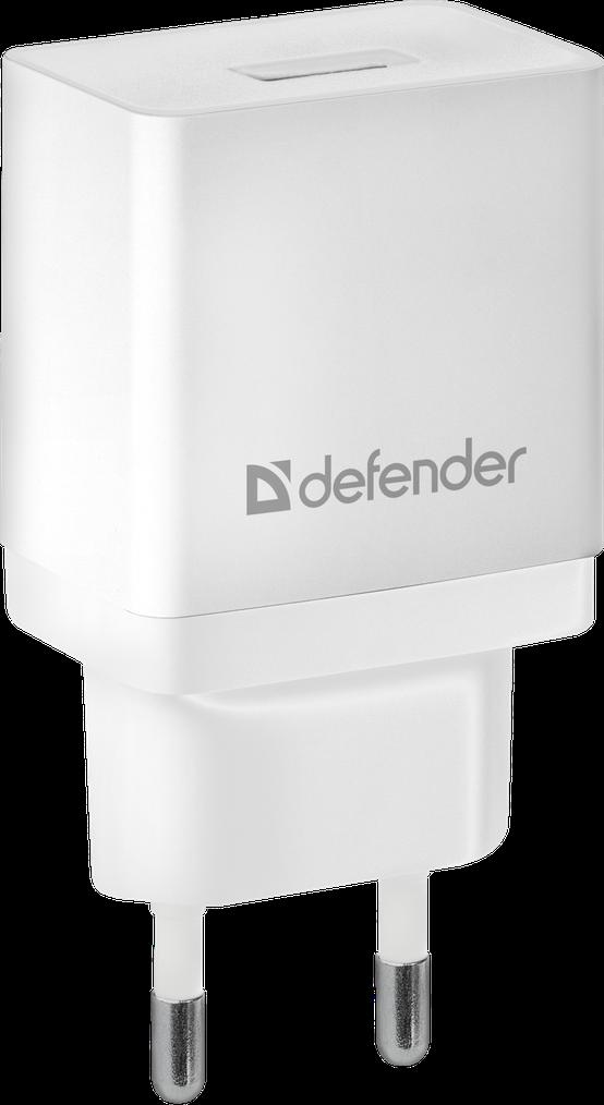 Зарядное устройство сетевое Defender EPA-10   белый