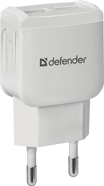 Зарядное устройство сетевое Defender EPA-13   белый