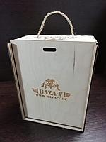 Коробка из дерева под заказ по индивидуальному дизайну