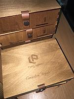 Коробка подарочная из фанеры
