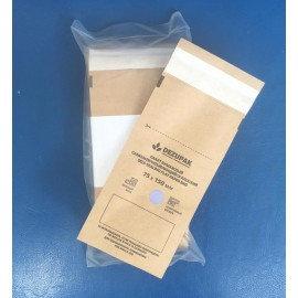 Крафт-пакеты для стерилизации,DEZYPAK, 75*150, (коричневая бумага)