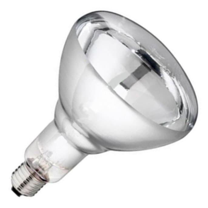 Лампа инфракрасная зеркальная, термоизлучатель ИКЗК 220-250 R127 E27