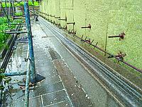 Гранит натуральный с установкой на фасад