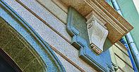 Натуральный мрамор для отделки фасада