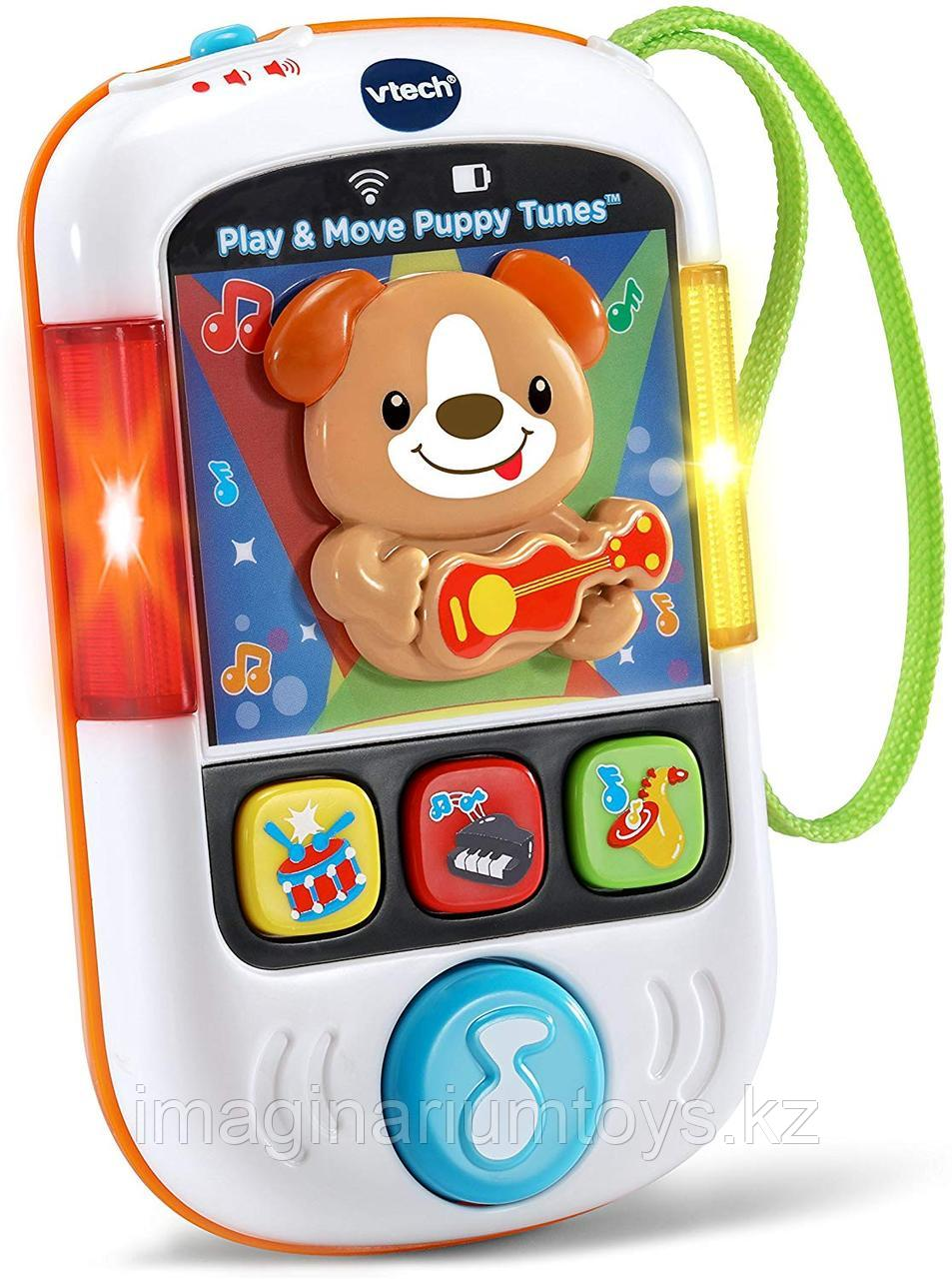 Интерактивная развивающая игрушка Телефон VTech цвет белый