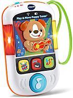 Интерактивная развивающая игрушка Телефон VTech цвет белый, фото 1