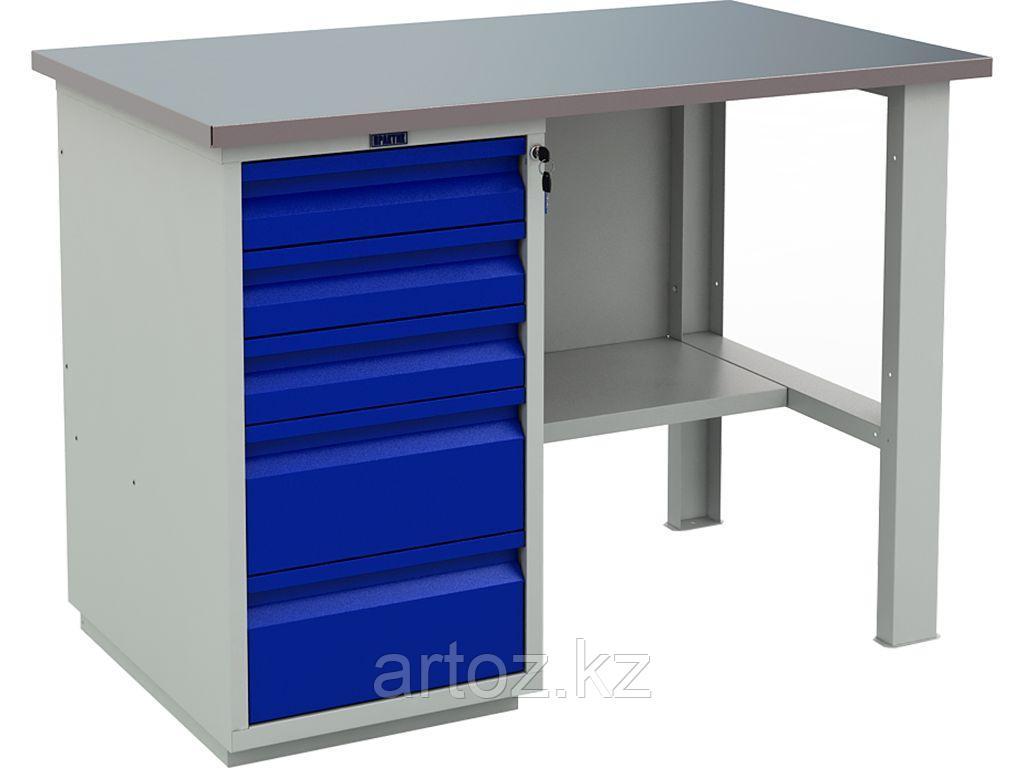 Металлический верстак PROFI (№202) 880x1200x700