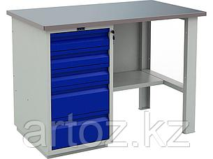 Металлический верстак PROFI (№202) 880x1200x700, фото 2