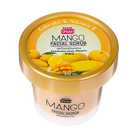 Фруктовый скраб Манго для лица Banna facial scrub Mango 100 gr.