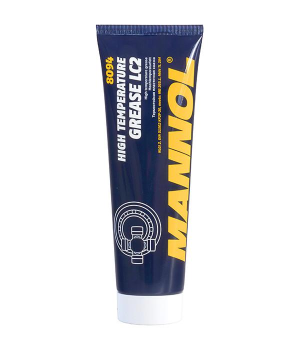 Смазка противозадирная термостойкая 8094 Mannol High Temperature Grease LC-2  230 ml. широкого спектра примен.