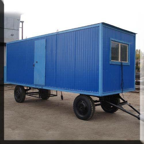Вагончики на колесах для строителей