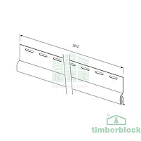 Стартовая планка Timberblock (белая), фото 2