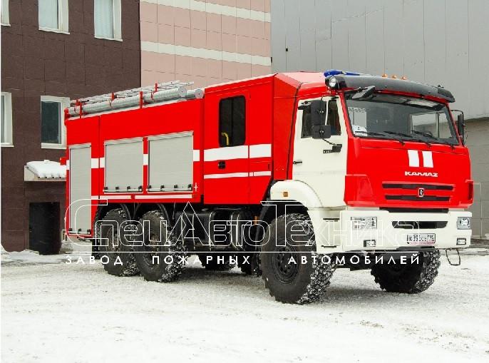 Пожарный автомобиль пенного тушения АПТ-6,0-40 (43118)
