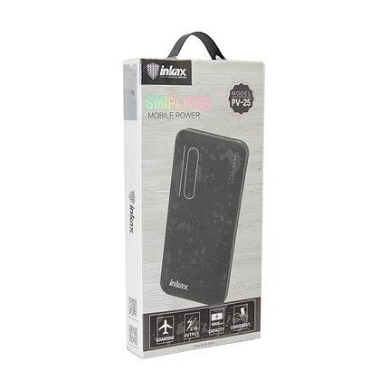 Внешний аккумулятор Power Bank Inkax PV-25 10000 Mah, фото 2