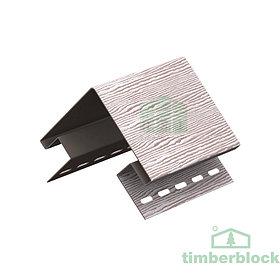 Наружный угол Timberblock (серебристый дуб)