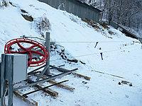 Безопорный подъемник для сноутюбингов (беби-лифт)