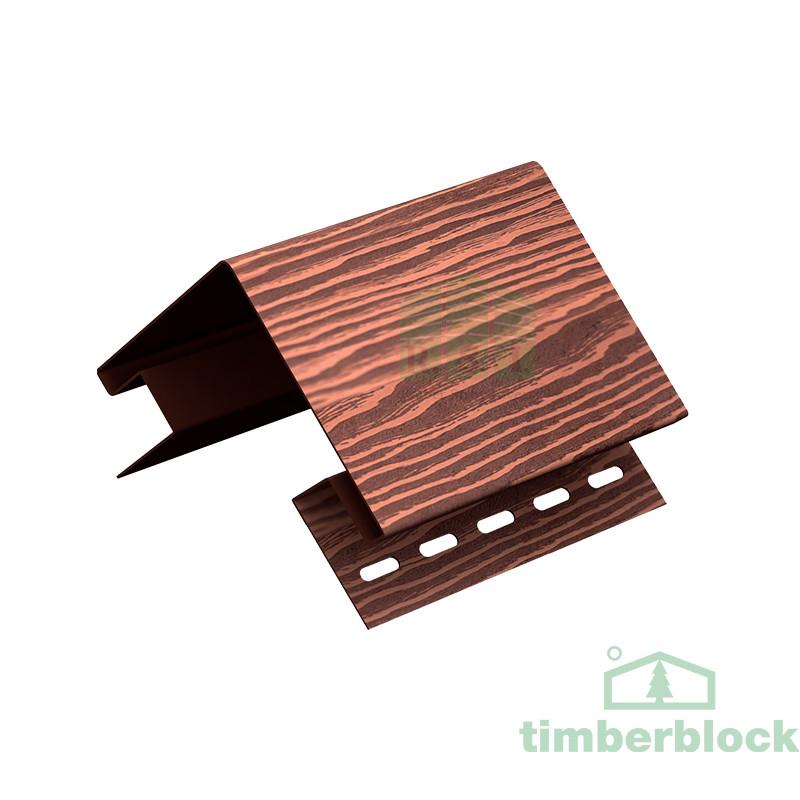 Наружный угол Timberblock (мореный дуб)