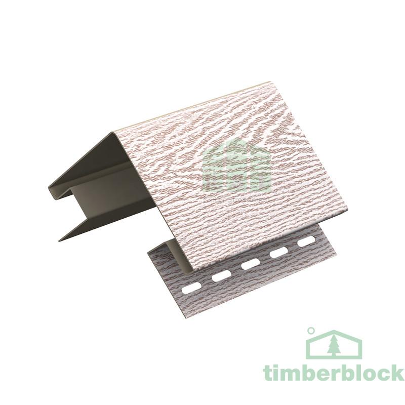 Наружный угол Timberblock (беленый ясень)