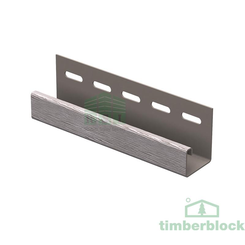 J-планка Timberblock (серебристый дуб)