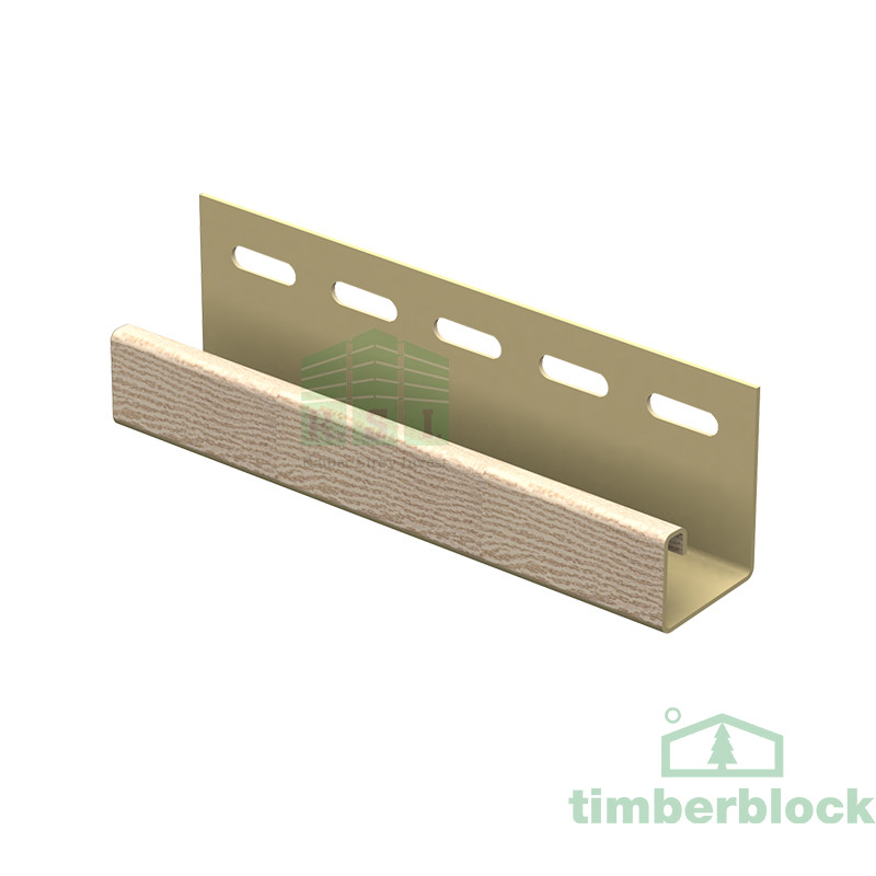 J-планка Timberblock (золотистый ясень)