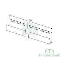 J-планка Timberblock (беленый ясень), фото 2