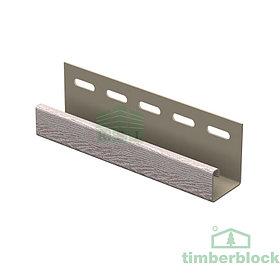J-планка Timberblock (беленый ясень)