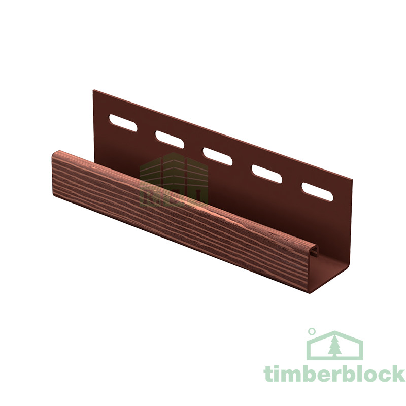 J-планка Timberblock (мореный дуб)