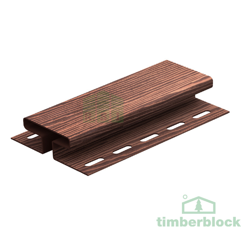 Соединительная планка Timberblock (мореный дуб)
