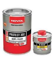 Акриловый грунт NOVOL PROTECT 300 1.0 л черный