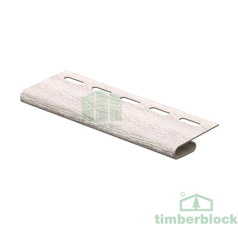 Финишная планка Timberblock (беленый ясень)