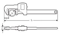 "Трубный ключ STILLSON 3/4"" / 28mm SUPER-EGO 101, фото 2"