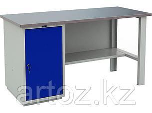 Металлический верстак PROFI (№600) 880x1600x700, фото 2