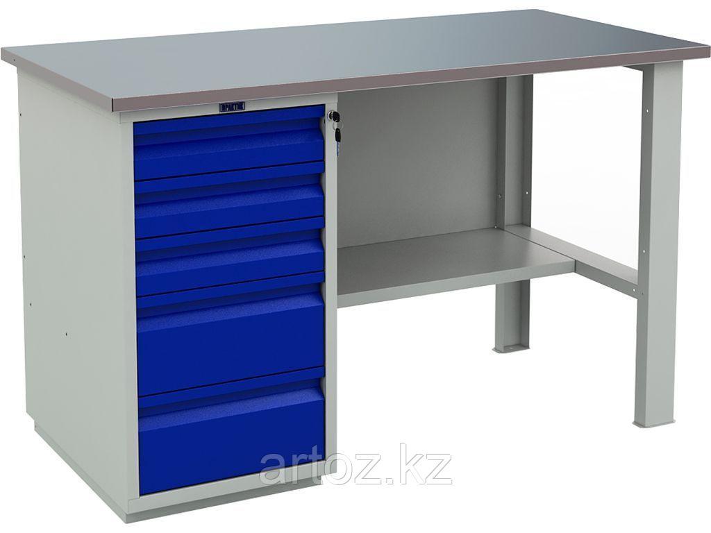 Металлический верстак PROFI (№401) 880x1400x700