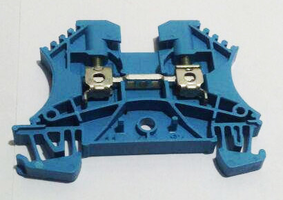 Weidmuller концевая пластина WTR 2.5 BL W- серия цвет синий - фото 1