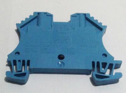 Weidmuller концевая пластина WTR 2.5 BL W- серия цвет синий - фото 2