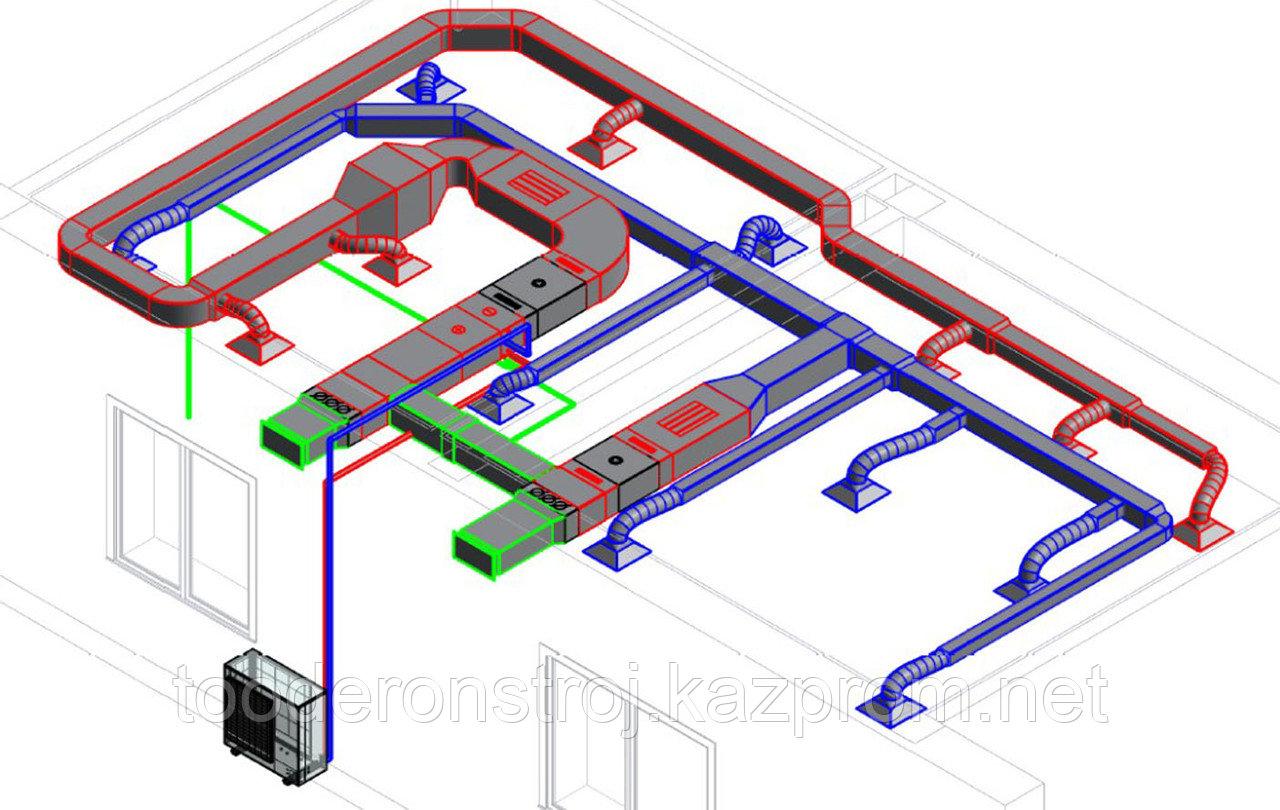 Модернизация, реконструкция, замена, восстановление и наладка воздухонагревательного оборудования в г. Астане - фото 10