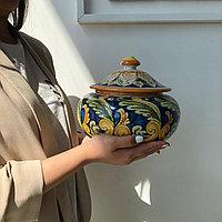 Посуда для сыпучих продуктов, керамика. Италия