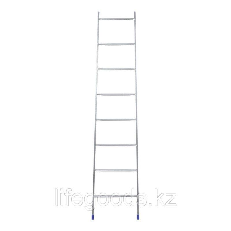 Приставная лестница 8 ступеней металлическая 197 см, Ника Л8