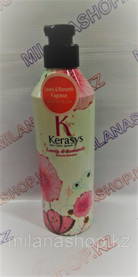 """Kerasys Lovely & Romantic Parfumed Shampoo - Парфюмированный шампунь """"Любовь и Романтика"""""""