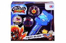 Волчок Auldey Infinity Nado Атлетик Fiery Blade с устройством запуска (YW624502)
