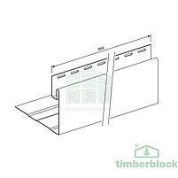 Околооконная планка Timberblock (серебристый дуб), фото 2