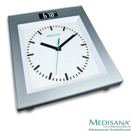 Напольные весы со встроенными часами Medisana PSA (Германия), фото 2