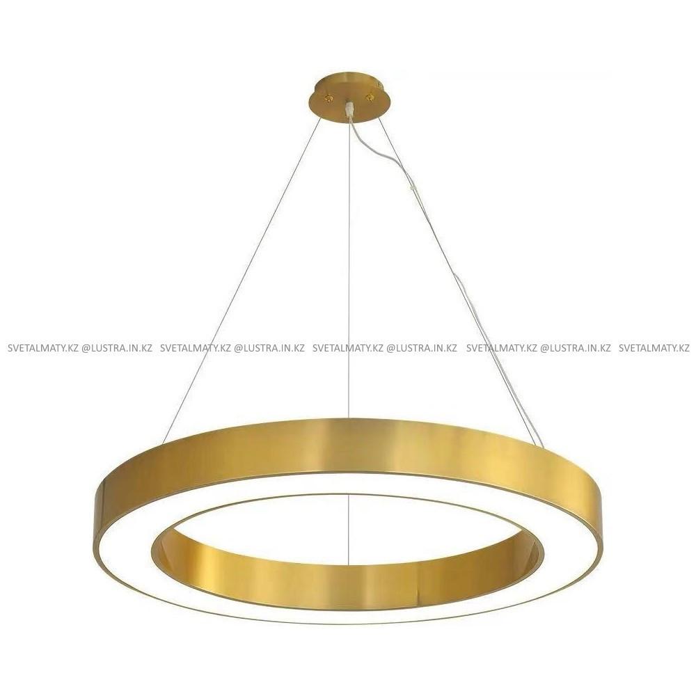 Светодиодная потолочная люстра Бронзовое кольцо 80 см.