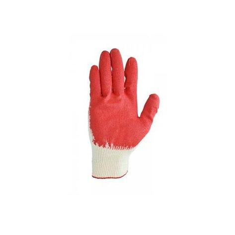 Перчатки двойной облив (латекс), х/б, фото 2