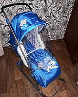Ника: Санки коляска DISNEY BABY1 Далматинец голубой