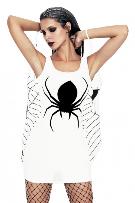 Платье «паук» размер M, белое