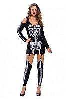 Платье на хеллоуин «Скелет» размер L, фото 1